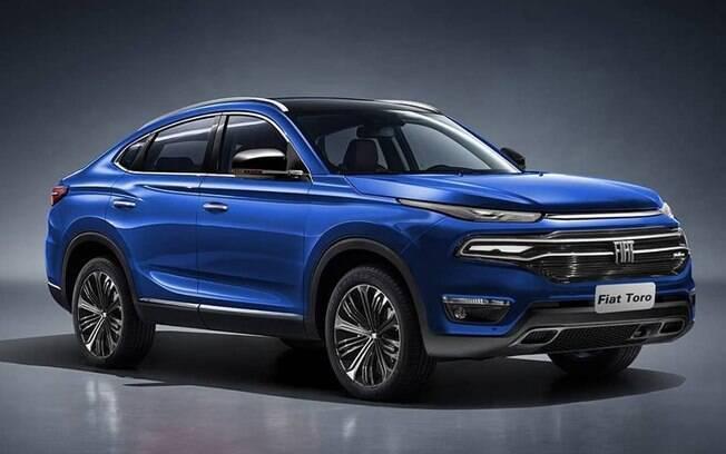 O novo SUV da Fiat irá compartilhar sua base com a picape Toro, mas trará algumas mudanças estéticas no projeto
