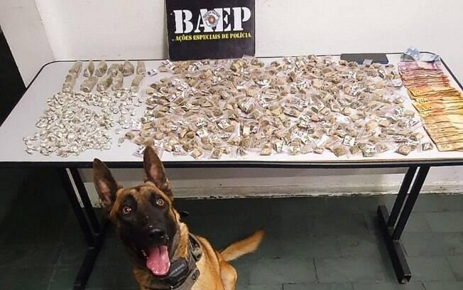 Baep prende homem por tráfico de drogas na Vila Georgina