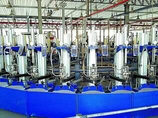 Sistema. A unidade de Ibirité, na Grande BH, terá processo de envasamento de gás automatizado