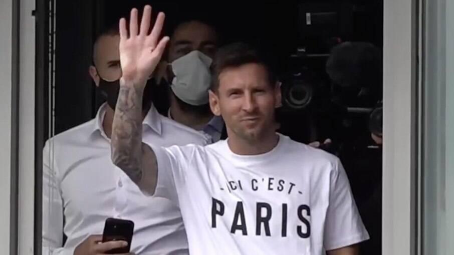 Messi será apresentado no PSG nesta quarta-feira