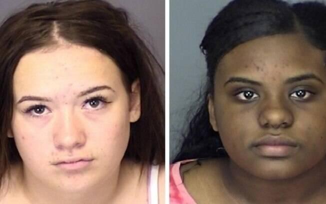 Delaney Barnes e Solonge Green, ambas de 14 anos, foram presas após descoberta do plano