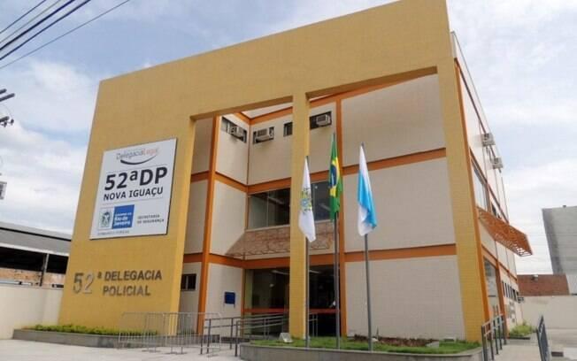 Idoso foi levado à delegacia de Nova Iguaçu, no Rio de Janeiro