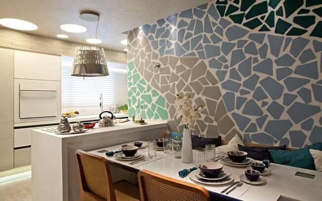 Sala De Jantar Com Banco Na Parede ~ Salas de jantar para inspirar a decoração  Decoração  iG