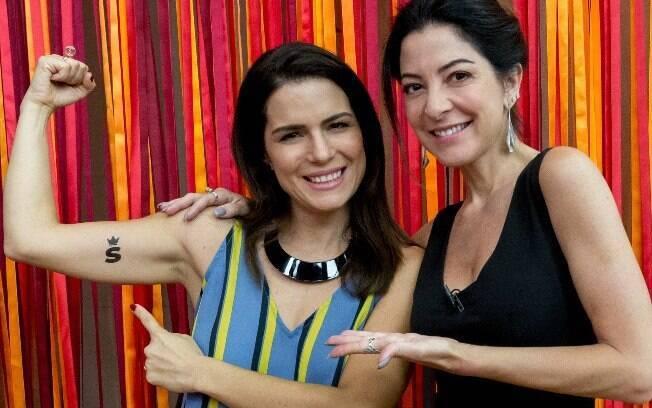 Natália Leite e Ana Paula