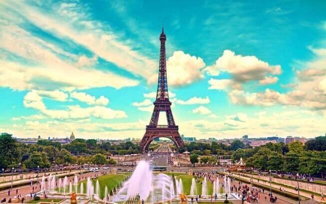 França está entre as opções de lugares românticos