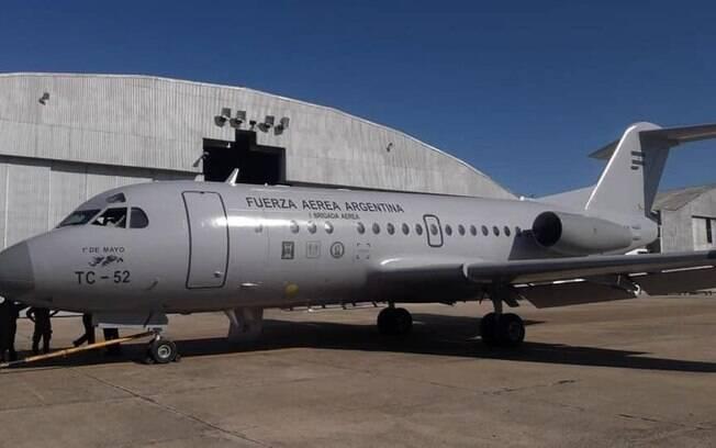 LADE retoma operações comerciais com o Fokker 28