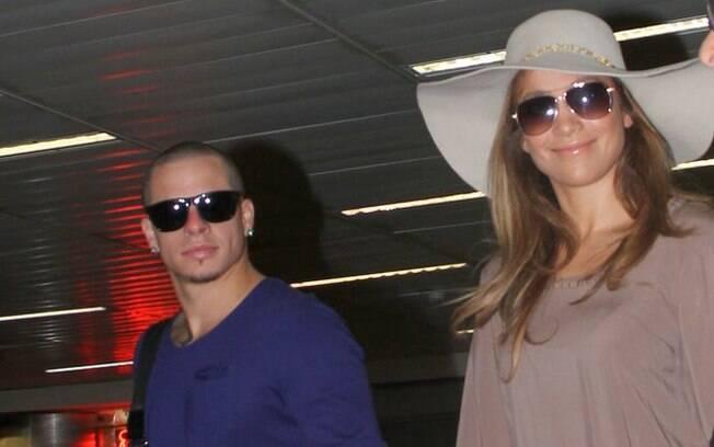 Jennifer Lopez e o namorado Casper Smart