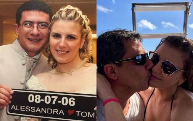 Alessandra Veiga conta que tem sonhado com Tom Veiga