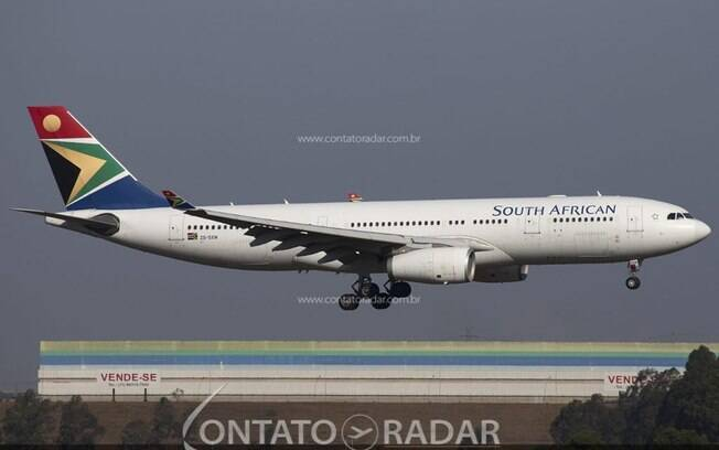 Governo sul-africano concede financiamento à South African Airways