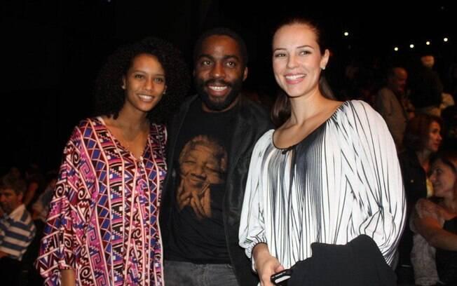 Taís Araújo, Lázaro Ramos e Paola Oliveira