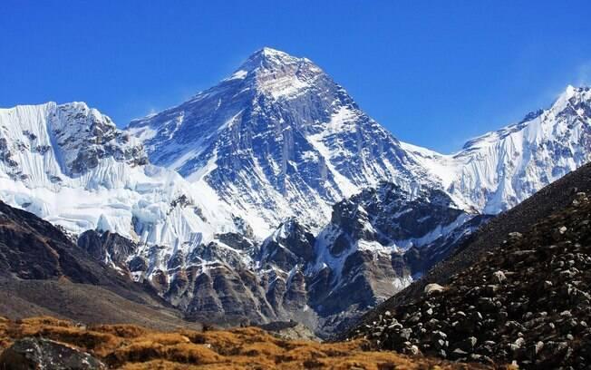 Pico do Monte Everest é o local mais alto da Terra