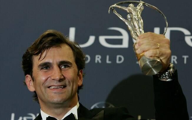 Alex Zanardi ganhou prêmio Laureus em 2005