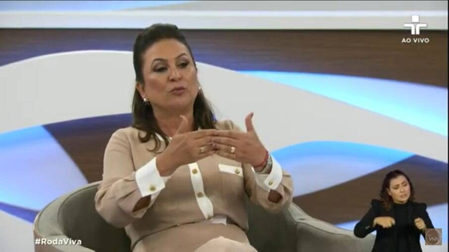 Senadora Kátia Abreu no Roda Viva