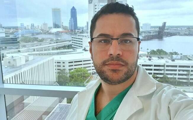 Lucas Pires%2C médico que fez post antes de morrer de covid-19