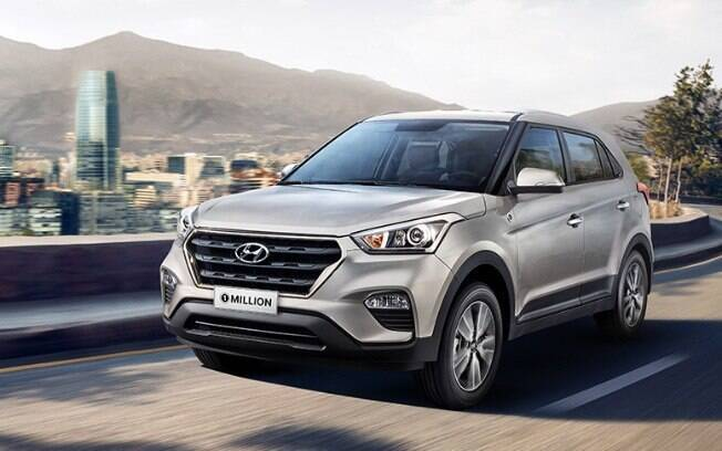 Hyundai Creta volta a ser o destaque de dezembro entre os SUVs mais vendidos. Deverá finalizar o mês na liderança