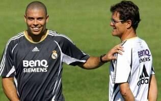 Fabio Capello diz que Ronaldo foi um dos melhores atletas com quem trabalhou