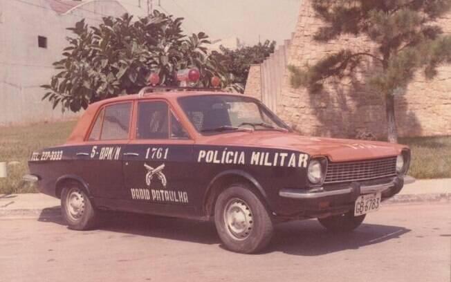 Rádio-patrulha da Polícia Militar