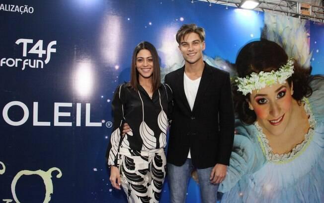Carol Castro e o namorado, Raphael Sander