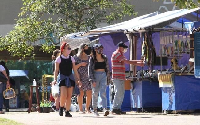 Feira Hippie vai funcionar no feriado de Corpus Christi