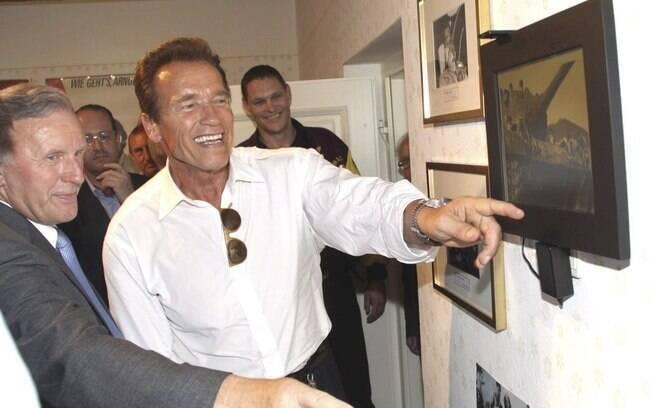 Arnold Schwarzenegger ganha museu na Áustria