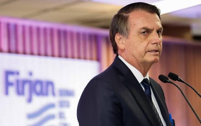 Bolsonaro negou que tenha briga entre os poderes