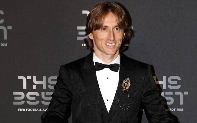 Melhor do mundo pela Fifa, Luka Modric também ganhou a Bola de Ouro da France Football