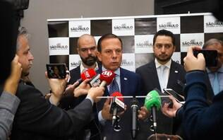 Não dependo de 34 votos para ter vida política, diz Doria sobre derrota interna
