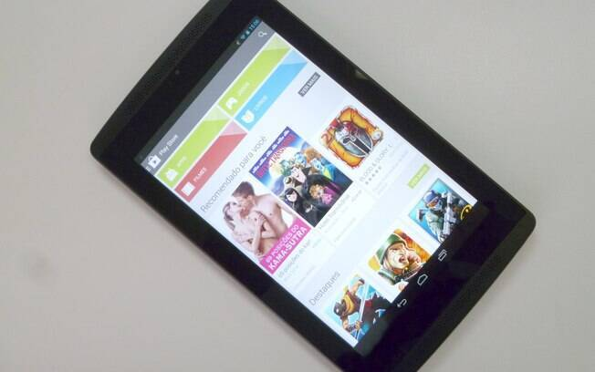 Com Android KitKat, Tegra Note 7 é tablet ideal para games ...
