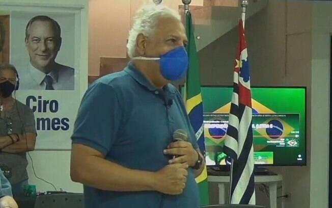 Dr. Hélio é o candidato do PDT à Prefeitura de Campinas.