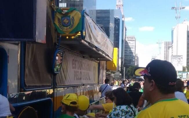 Em São Paulo, manifestantes pedem reforma da Previdência, apoio ao pacote anticrime e tem críticas ao Centrão e STF