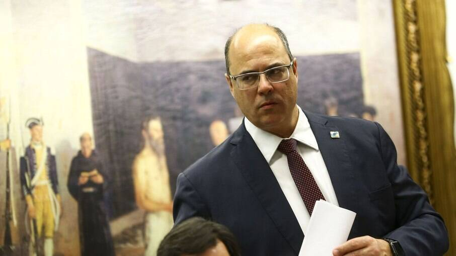 Witzel foi afastado do cargo por suspeita de atos de corrupção em contratos públicos do governo do Rio de Janeiro