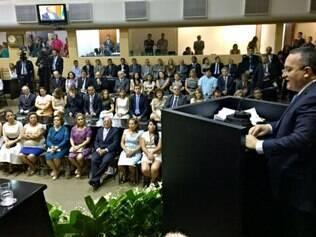 Pedro Taques tomou poesse na Assembleia Legislativa do Mato Grosso