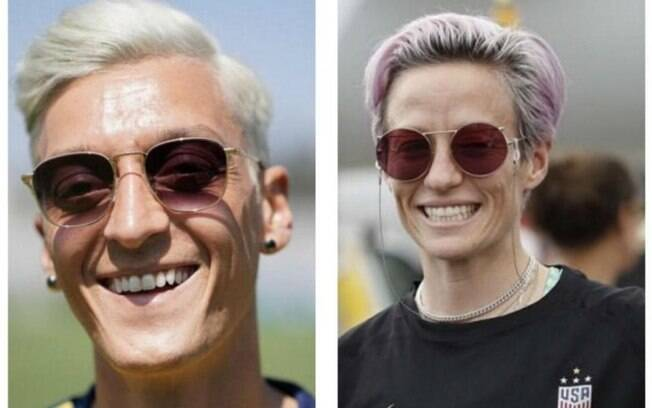 Özil está parecido com Rapinoe%3F