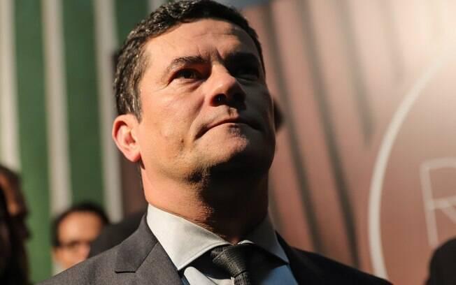 O Ministro da Justiça e Segurança Publica, Sergio Moro, participa do programa Roda Viva da TV Cultura em São Paulo (SP), nesta segunda-feira (20)