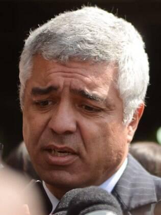 Major Olímpio fala antes do julgamento de 26 PMs acusados de envolvimento no massacre do Carandiru, no ano de 2013