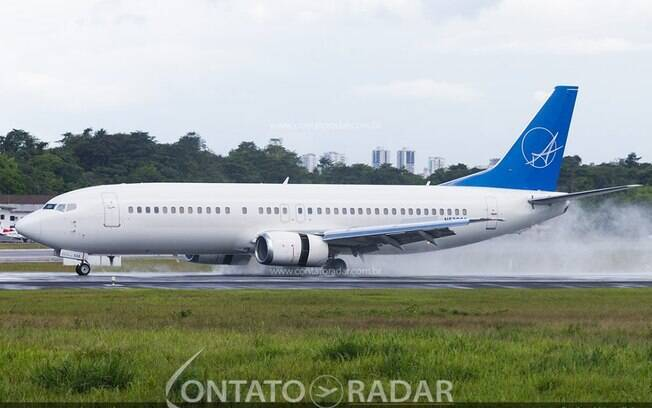 Swift Air programa voo para Confins