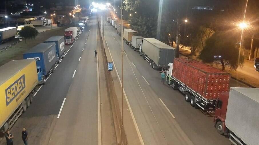 Paralisação não é relacionada ao preço do diesel e não faz parte da greve prevista para 1º de novembro