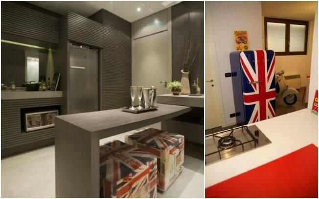 A bandeira do reino unido é uma opção para enfeitar sua cozinha