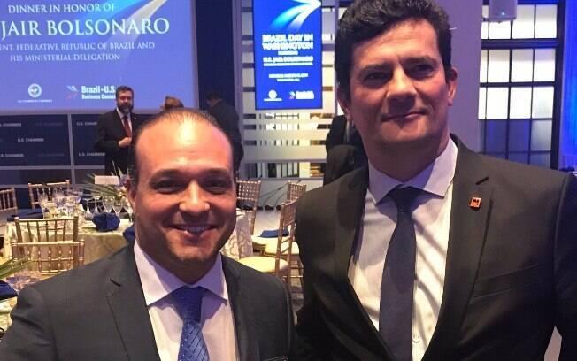 Antes de Márcio Coimbra (à esq.), Alecxandro Carreiro e Marcio Vilalva foram diretores de Gestão Corporativa da Apex