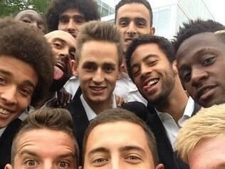 Comandados por Hazard, os jogadores da Bélgica mostraram que grupo está unido