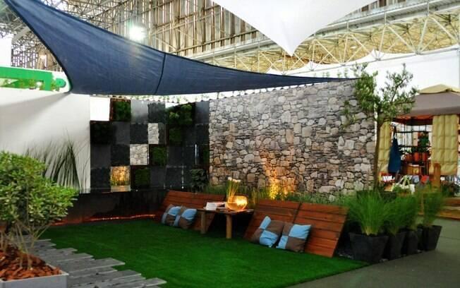 O Jardim como Alma Mediterrânea, da paisagista Monique Briones incentiva a economia de água e transmite sensação de despreocupação