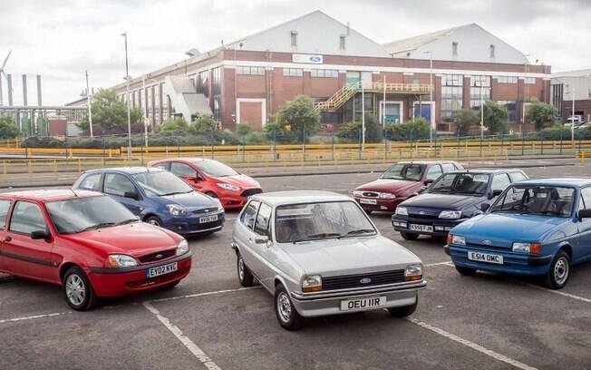 Ford Fiesta faz 40 anos com uma trajetória de sucesso em vários países no mundo, inclusive no Brasil