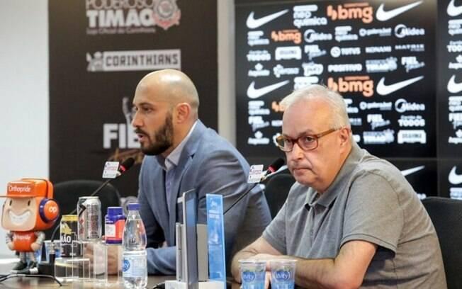 Dirigentes do Corinthians falam sobre permanência de Otero e Jemerson