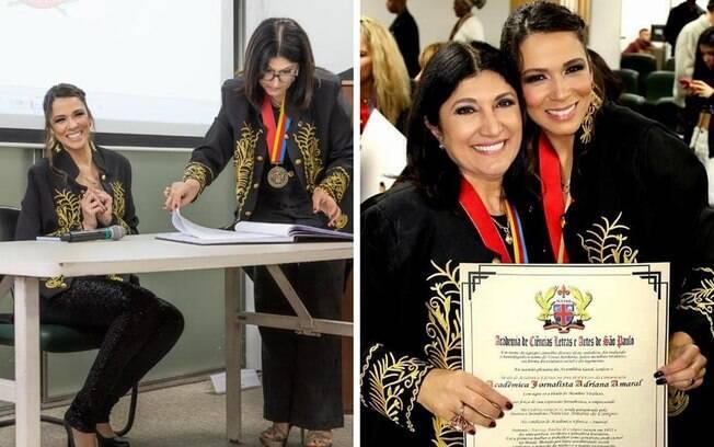 Adriana Amaral e Zaine Assaf