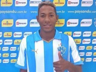 Leleu chega ao Paysandu para tentar atingir a titularidade e se destacar no clube paraense