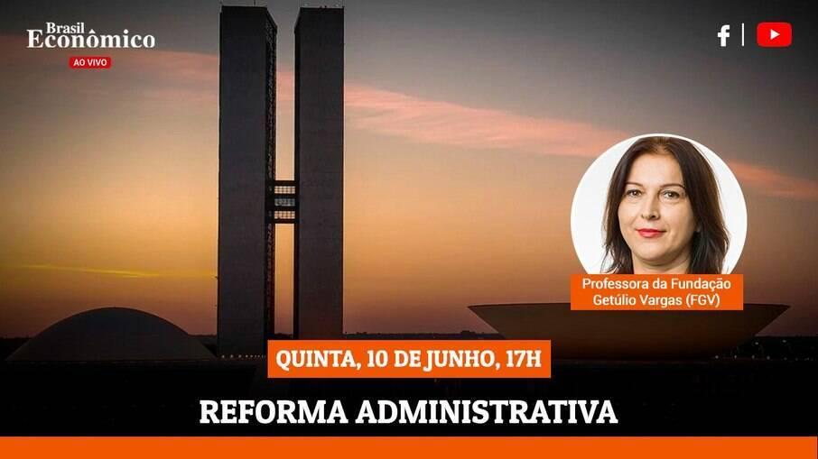 Alketa Peci é a entrevistada do Brasil Economia ao Vivo desta quinta-feira (10), cujo tema será a nova reforma administrativa