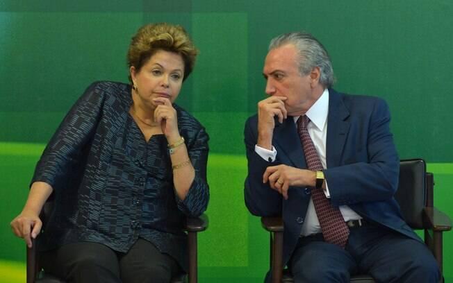 A presidente Dilma Rousseff e seu vice, Michel Temer foram citados na delação da Odebrecht