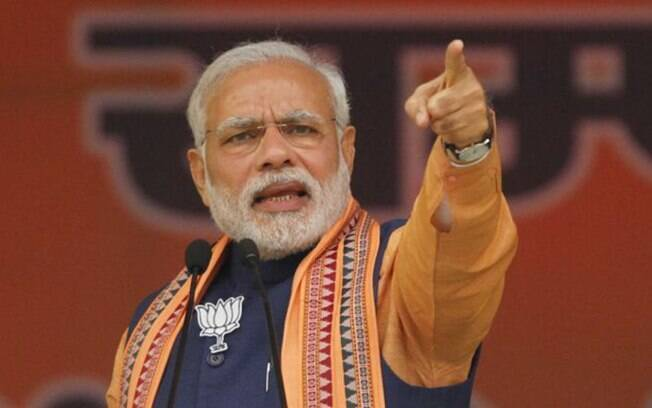 Narendra Modi decretou quarentena total na Índia
