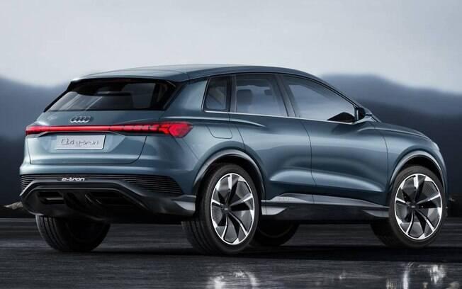 Vincos pronunciados e alta linha de cintura fazem parte o desenho do SUV da marca alemã, que pode deve ser vendido no Brasil