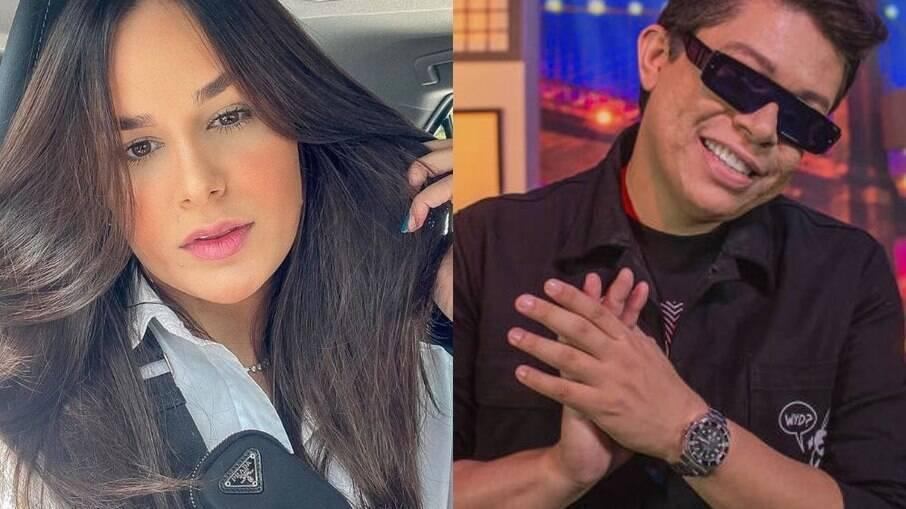 Pamella Holanda não quer interferir no relacionamento da filha com DJ Ivis
